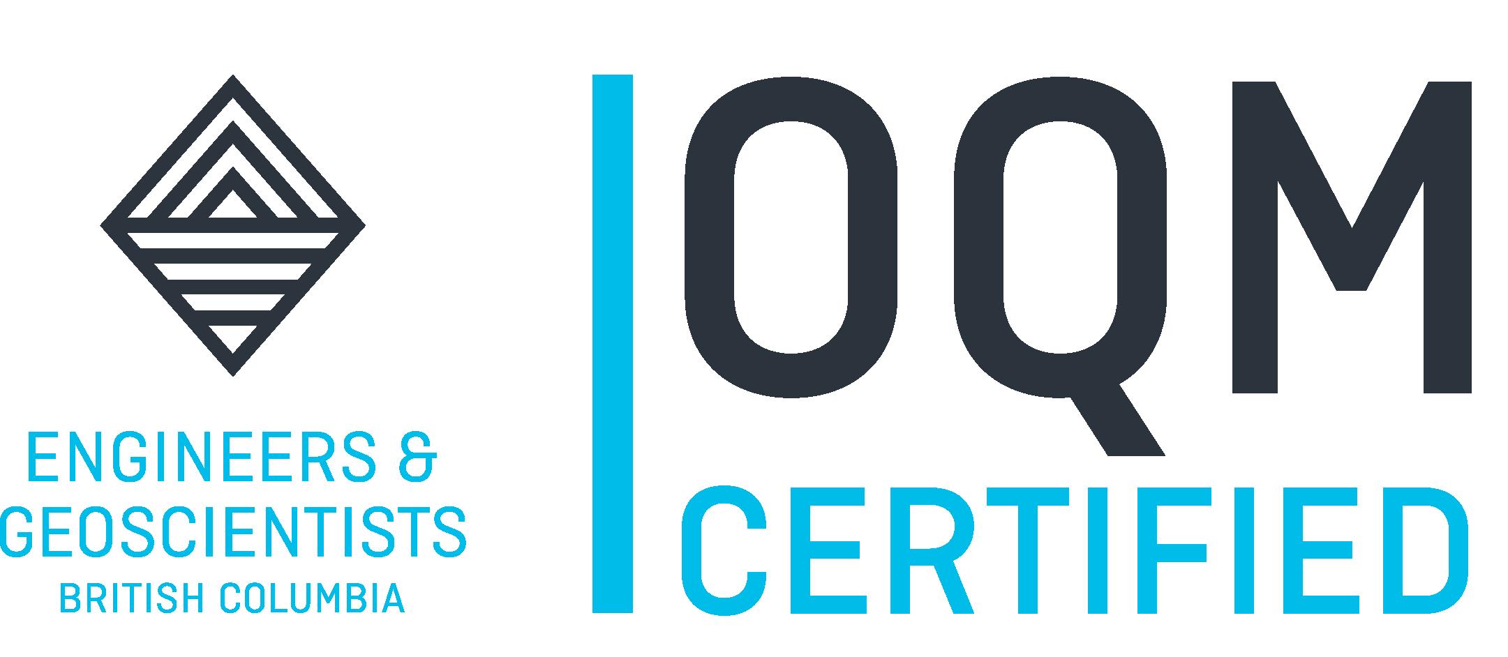 OQM Certified Logo